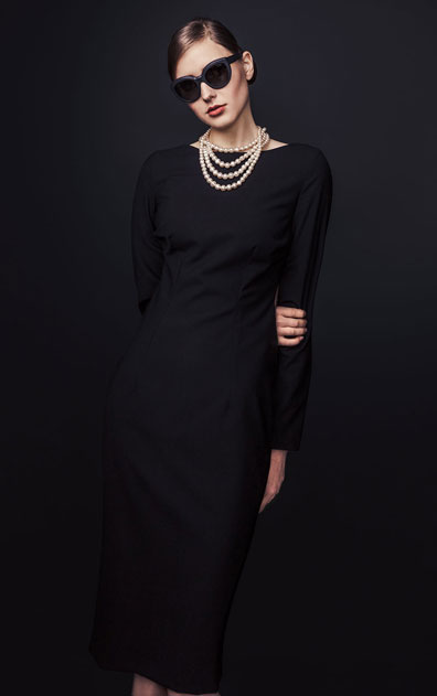 Audrey concept kjoler ikonisk elegance